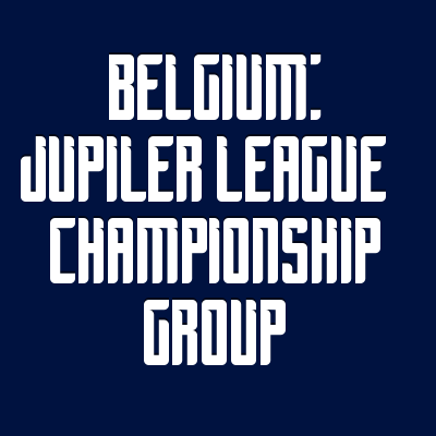 Wettquoten Belgium: Jupiler League - Championship Group