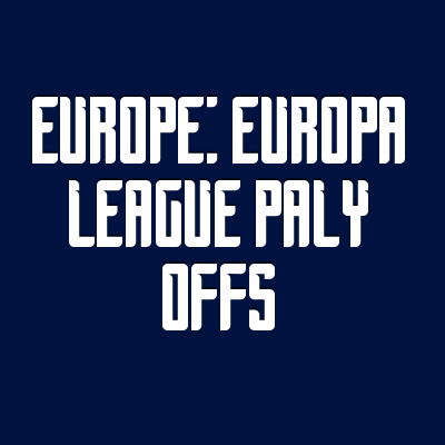 Wettquoten Europe: Europa League Paly Offs